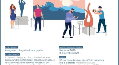 """Università di RomaTRE-Corso di formazione """"Ambienti digitali, tecnologie e metodologie per la valorizzazione del patrimonio culturale in ambito educativo"""""""