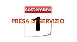 Presa di servizio Docenti e ATA trasferiti o neoimmessi in ruolo dal 1° settembre 2020