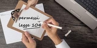Fruizione permessi legge 104/92 e pianificazione mensile