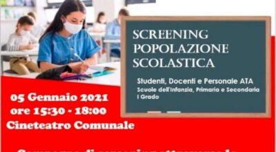 Campagna di screening promossa dal Comune di Banzi