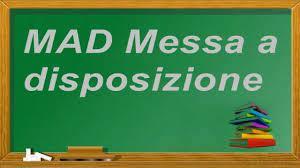 Determina gestione MAD anno scolastico 2021/2022.